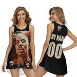 DMX American rapper Vapor Black 3D Designed Allover Custom Gift For DMX Fans Sleeveless Dress