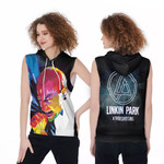 Linkin Park A Thousand Suns Chester Bennington Art Rock band Logo 3D Designed Allover Gift For Linkin Park Fans Sleeveless Hoodie
