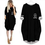Linkin Park Rock band Logo Black 3D Designed Allover Gift For Linkin Park Fans Batwing Pocket Dress
