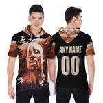 DMX American rapper Vapor Black 3D Designed Allover Custom Gift For DMX Fans Short Sleeve Hoodie