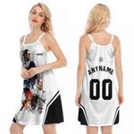 Linkin Park Legend Members Rock band Logo White 3D Designed Allover Gift For Linkin Park Fans O-neck Dress