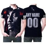 DMX American rapper Avatar Black 3D Designed Allover Custom Gift For DMX Fans Polo shirt
