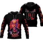 DMX King American rapper Black 3D Designed Allover Custom Gift For DMX Fans Hoodie