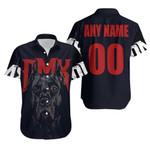 DMX American rapper Pit Bull Black 3D Designed Allover Custom Gift For DMX Fans Hawaiian Shirt