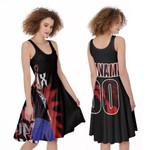DMX Fire On Performance American rapper Black 3D Designed Allover Custom Gift For DMX Fans A-line Dress