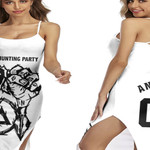 Linkin Park Rock band Special Logo Black White 3D Designed Allover Custom Gift For Linkin Park Fans Back Cross Dress