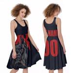 DMX American rapper Pit Bull Black 3D Designed Allover Custom Gift For DMX Fans A-line Dress