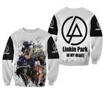 Linkin Park Legend Members Art Rock band Logo White 3D Designed Allover Gift For Linkin Park Fans Sweater