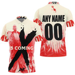 DMX The Best American rapper Logo 3D Designed Allover Custom Gift For DMX Fans Polo shirt