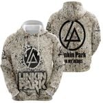Linkin Park In My Heart Rock band Logo 3D Designed Allover Gift For Linkin Park Fans Hoodie