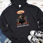 Jack Skellington Tim Hortons Nightmare Before Coffee Spooky Halloween Gift For Jack Skellington Fans Tshirt