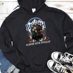 Jack Skellington Buschlight Nightmare Before Drink Spooky Halloween Gift For Jack Skellington Fans Tshirt