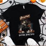 Jack Skellington Stumptown Coffee Roasters Nightmare Before Coffee Spooky Halloween Gift For Jack Skellington Fans Tshirt
