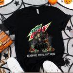 Jack Skellington Mountain Dew Nightmare Before Drink Spooky Halloween Gift For Jack Skellington Fans Tshirt