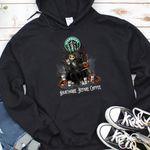 Jack Skellington Starbucks Nightmare Before Coffee Spooky Halloween Gift For Jack Skellington Fans Tshirt