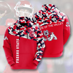 Topsportee NCAA FRESNO STATE BULLDOGS Limited Edition Amazing Unisex Hoodie Full Sizes