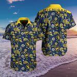 Topsportee NCAA MICHIGAN WOLVERINES Limited Edition Hawaii shirt Full sizes TOP000492