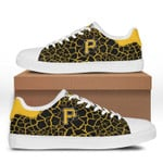MLB Pittsburgh Pirates Limited Edition Men's and Women's Skate Shoes NEW001554