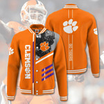 Topsportee NCAA CLEMSON TIGERS Limited Edition Amazing Men's and Women's Varsity Jacket Full Sizes TOP000082