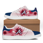 MLB Atlanta Braves Limited Edition Men's and Women's Skate Shoes NEW001334