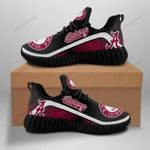 Topsportee NCAAF ALABAMA CRIMSON TIDE Limited Edition Men's and Women's Black or White Sole and Shoelace New Sneakers All US Size TOP000591