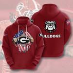 Topsportee NCAA GEORGIA BULLDOGS Limited Edition Amazing Unisex Hoodie Full Sizes