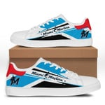 MLB Miami Marlins Limited Edition Men's and Women's Skate Shoes NEW002747
