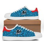 MLB Miami Marlins Limited Edition Men's and Women's Skate Shoes NEW001547
