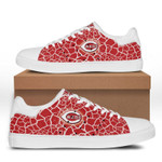 MLB Cincinnati Reds Limited Edition Men's and Women's Skate Shoes NEW001539