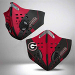 Topsportee NCAA GEORGIA BULLDOGS Facemask N95 Filter
