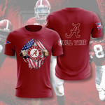 Topsportee NCAAF ALABAMA CRIMSON TIDE Limited Edition Amazing Men's and Women's T-shirt Full Sizes TOP000644
