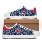 MLB Cleveland Indians Limited Edition Men's and Women's Skate Shoes NEW001540