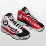 Topsportee NCAA GEORGIA BULLDOGS Limited Edition Men's and Women's Jordan 13 Sneakers All US Size TOP000229