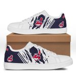 MLB Cleveland Indians Limited Edition Men's and Women's Skate Shoes NEW002340