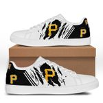 MLB Pittsburgh Pirates Limited Edition Men's and Women's Skate Shoes NEW002354