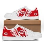 MLB Cincinnati Reds Limited Edition Men's and Women's Skate Shoes NEW002339