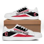MLB Cleveland Indians Limited Edition Men's and Women's Skate Shoes NEW002740