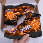 Topsportee NCAA CLEMSON TIGERS Limited Edition All Season POD Boots US Size TOP000365