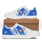 MLB Toronto Blue Jays Limited Edition Men's and Women's Skate Shoes NEW002361