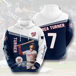 Topsportee MLB Washington Nationals TREA TURNER 7 Limited Edition Amazing Men's and Women's Hoodie Full Sizes