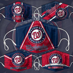 Topsportee MLB Washington Nationals Limited Edition Amazing 5PCS Set PM2.5 Activated Carbon Filter Face Masks