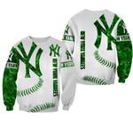 Topsportee MLB New York Yankees Limited Edition Amazing Men's and Women's Green Hoodie T-shirt Sweatshirt Full Sizes GTS001116