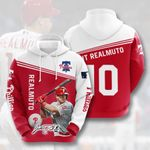 Topsportee MLB Philadelphia Phillies J. T. REALMUTO 10 Limited Edition Amazing Men's and Women's Hoodie Full Sizes