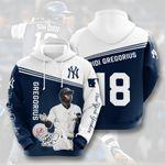 Topsportee MLB New York Yankees DIDI GREGORIUS 18 Limited Edition Amazing Men's and Women's Hoodie Full Sizes TOP000163