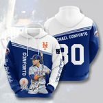 Topsportee MLB New York Mets MICHAEL CONFORTO 30 Limited Edition Amazing Men's and Women's Hoodie Full Sizes