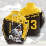 Topsportee MLB San Diego Padres MANNY MACHADO 13 Limited Edition Amazing Men's and Women's Hoodie Full Sizes GTS001331