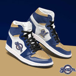 Topsportee MLB Milwaukee Brewers Limited Edition Men's and Women's Jordan Sneakers All US Size