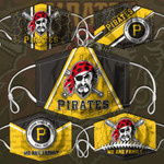 Topsportee MLB Pittsburgh Pirates Limited Edition Amazing 5PCS Set PM2.5 Activated Carbon Filter Face Masks