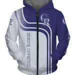 Topsportee MLB Colorado Rockies Limited Edition Amazing Men's and Women's Hoodie Full Sizes
