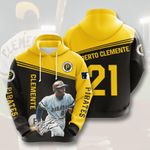 Topsportee MLB Pittsburgh Pirates ROBERTO CLEMENTE 21 Limited Edition Amazing Men's and Women's Hoodie Full Sizes GTS000781